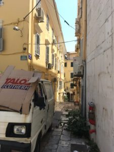Korfoe stad Corfu City