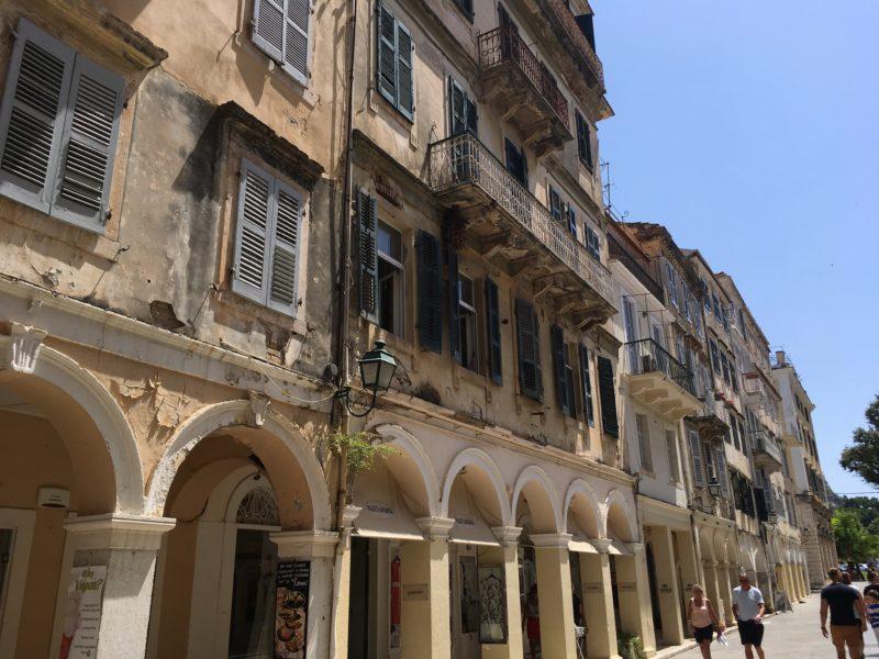 Corfu City Korfoe stad