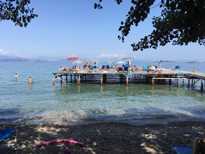 Dassia strand Korfoe