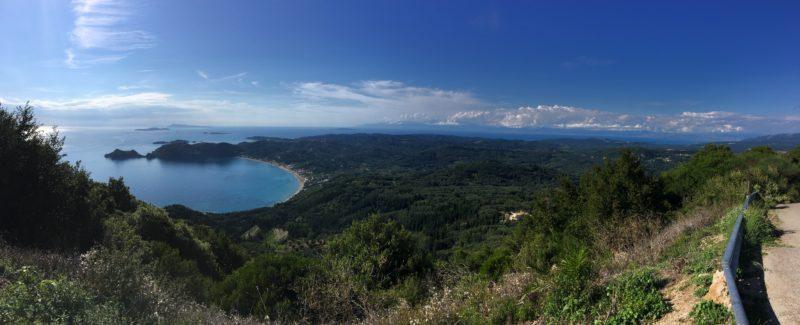 Korfoe Agios Georgios strand