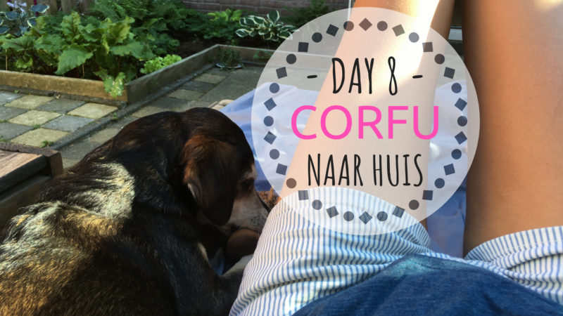 CORFU Korfoe vlog weer thuis