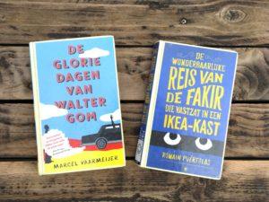 Bieb boeken Walter Gom en Fakir Ikea kast