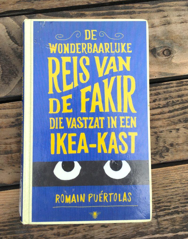 De wonderbaarlijke reis van de fakir die vastzat in een Ikea kast, Romain Puertolas