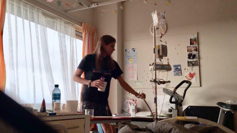Ziekenhuisopname vlog Cystic Fibrosis Taaislijmziekte