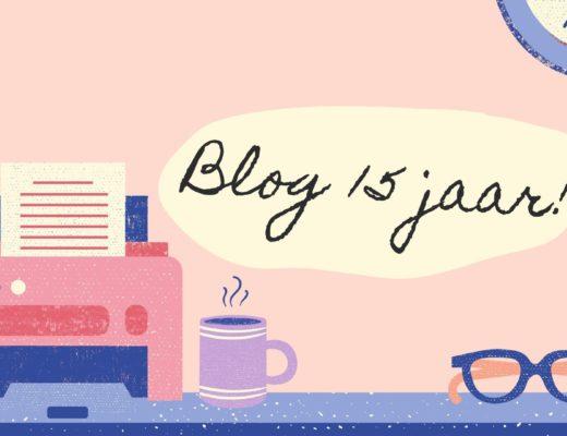 Blog 15 jaar oud