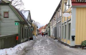 Zweden Sigtuna winter 15 jaar