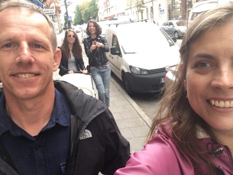 Lopen door Stockholm