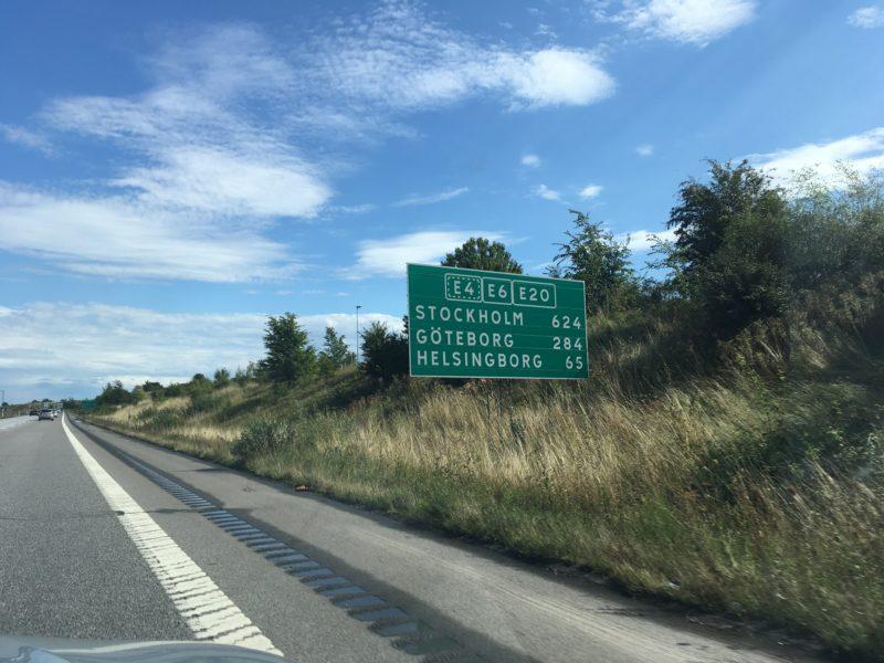 Roadtrip naar Stockholm rijden