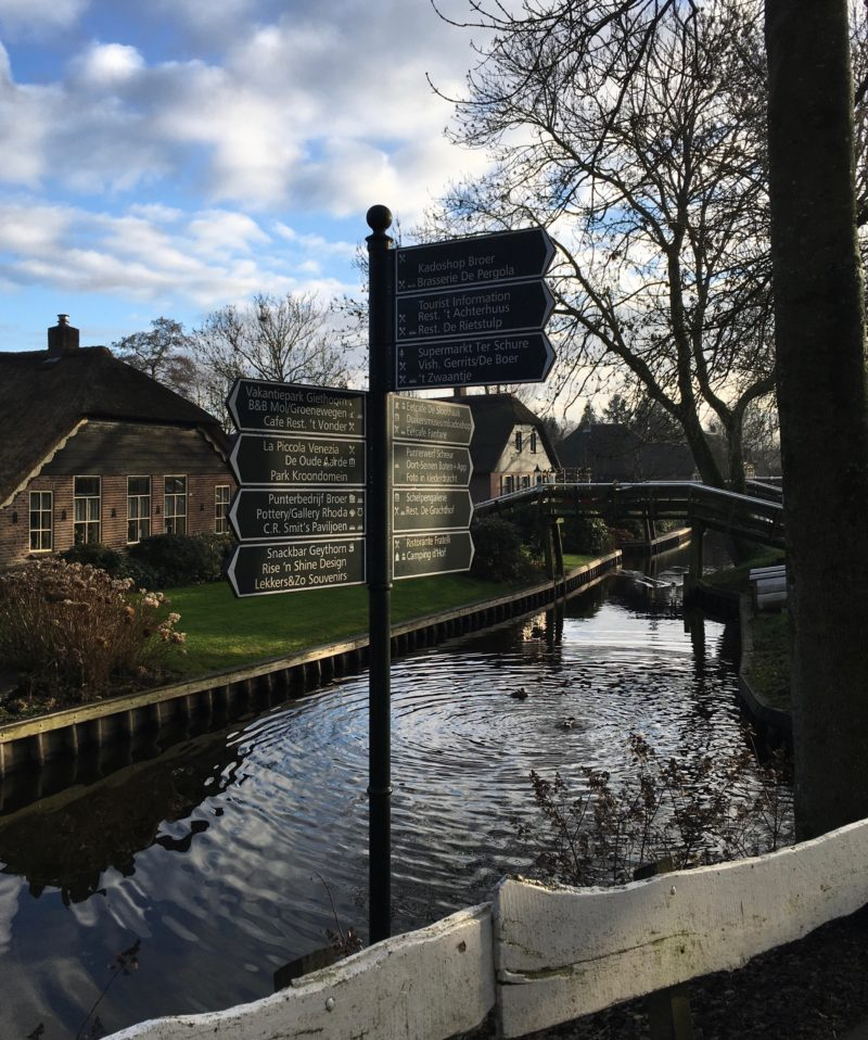 Giethoorn in de winter